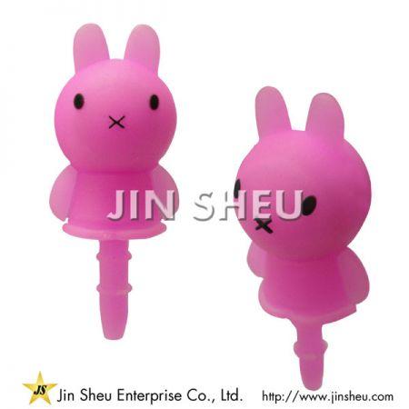 Personalized Soft PVC Ear Caps - Personalized Soft PVC Ear Caps