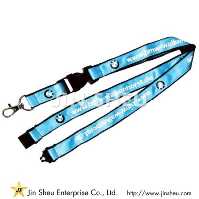 Satin Double Layered Lanyards - Satin Double Layered Lanyards