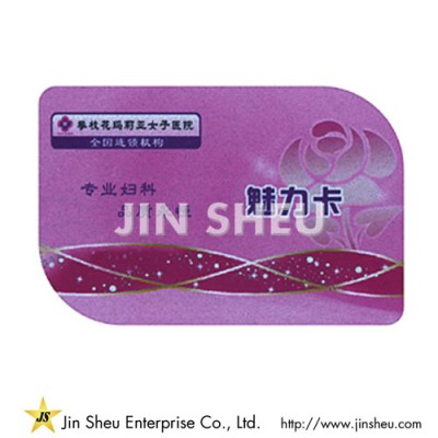 Custom Design Plastic Card - Custom Design Plastic Card