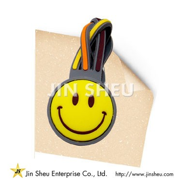 Smiley Face Magnetic Bookmark - Braided Magnetic Bookmark
