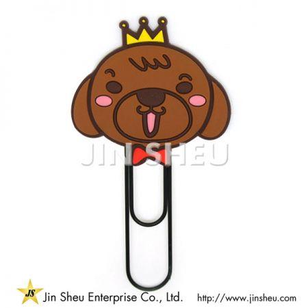 Cute Dog Paper Clip - Cute Dog Paper Clip
