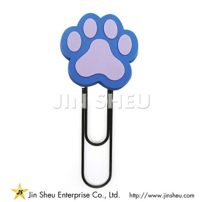 Customized Soft PVC Paper Clips - Customized Soft PVC Paper Clips