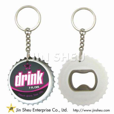 Bottle Cap Bottle Opener Keychain - Bottle Cap Bottle Opener Keychain