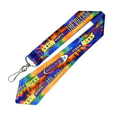 Custom Dye Sublimation Lanyards - Custom Dye Sublimation Lanyards