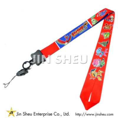 Customized Dye Sublimation Printed Lanyards - Customized Dye Sublimation Printed Lanyards
