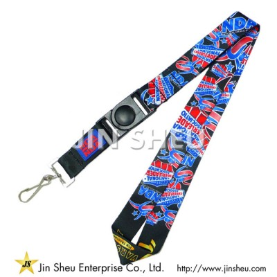 Heat Transfer Sublimation Lanyards - Heat Transfer Sublimation Lanyards