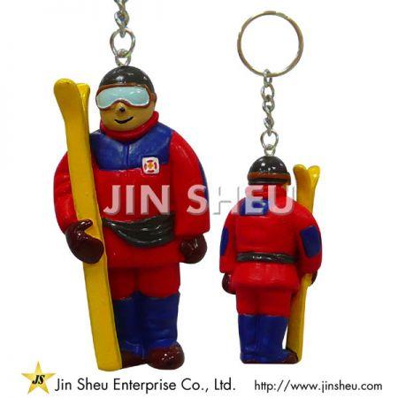 PVC Mini Figures Keychains - PVC Mini Figures Keychains