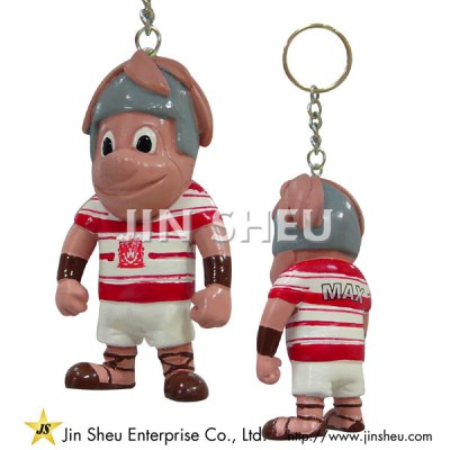 Cartoon Characters PVC Keychains - Cartoon Characters PVC Keychains