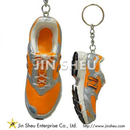 3D Running Shoe Keychain - Miniature Key ring
