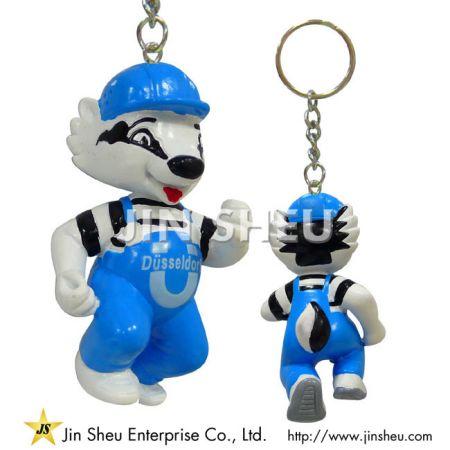 Custom PVC Figure Keychains - Custom PVC Figure Keychains