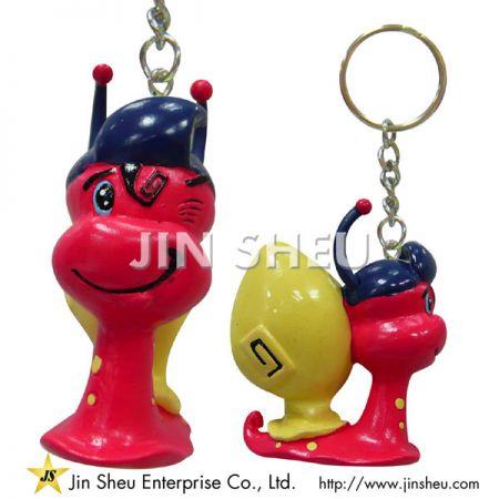 Fully Cubic PVC Keychains - Fully Cubic PVC Keychains