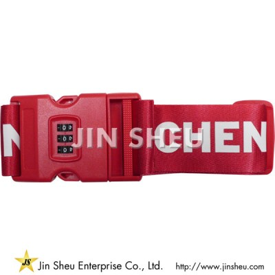 Luggage Belt with Lock - Luggage Belt with Lock