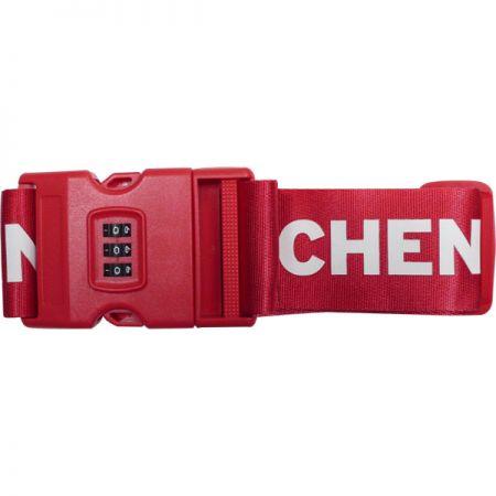 Luggage Belt with Lock - Luggage Belt with Lock