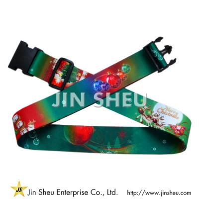 Christmas Luggage Belts - Christmas Luggage Belts