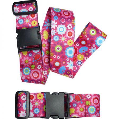 Luggage Belt With Dye Sublimation - Luggage Belt With Dye Sublimation