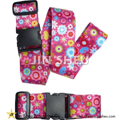 Luggage Belt With Dye Sublimation - Luggage Belt With Dye Sublimation