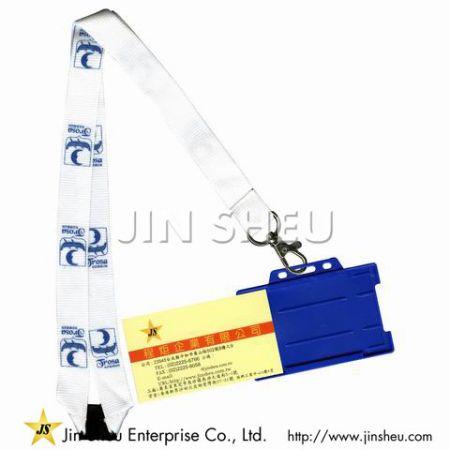 Printed Lanyard ID Badge Holders - Printed Lanyard ID Badge Holders