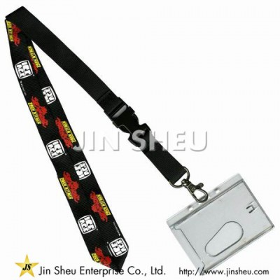 Printed Lanyard Badge Holders