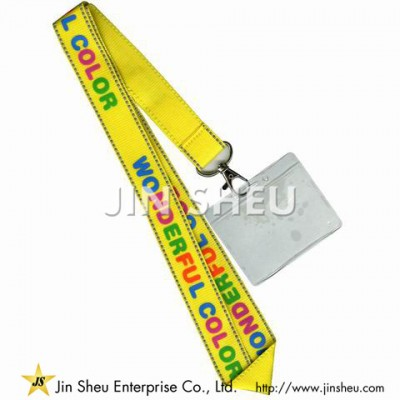 Badge Holders Printed Lanyard