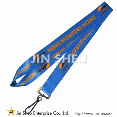 Imitation Nylon Fabric Lanyards - Imitation Nylon Fabric Lanyards