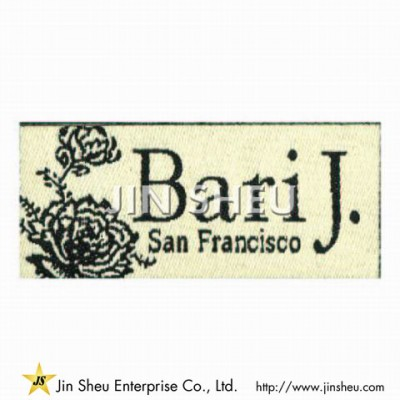 Woven Clothing Label - Woven Clothing Label