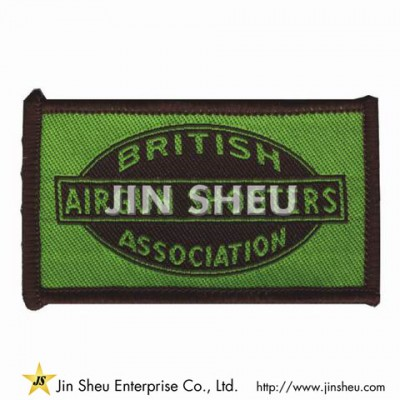 Woven Sew-On Patches - Woven Patches