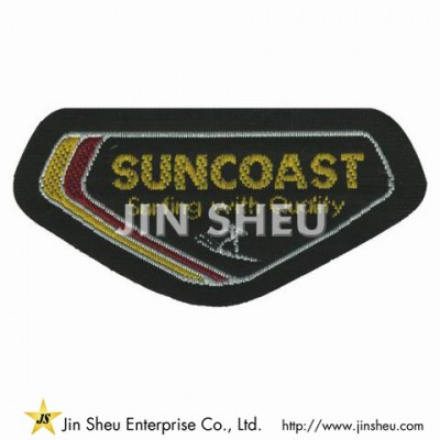 Custom Adhesive Woven Patch - Woven Patches Maker