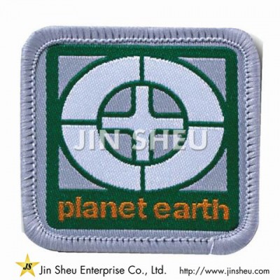 Woven Iron on Patch - Woven Label Patches Manufacturer