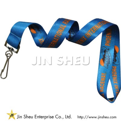 Custom Printed Nylon Lanyards - Nylon ID Lanyards