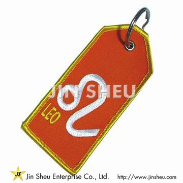 Constellation Embroidery Key Tags - Constellation Embroidery Key Rings