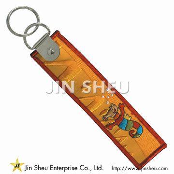 Embroidery Key Ring Tags - Embroidery Key Ring Tags