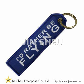 Custom Embroidery Key Chain Tags