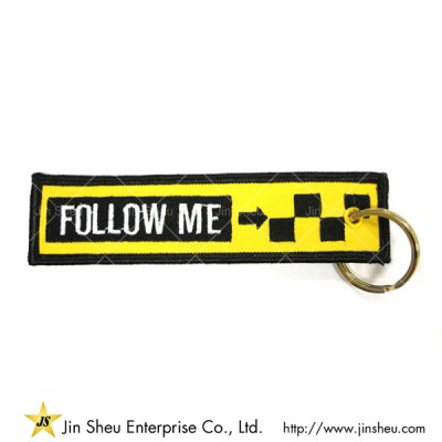 Custom Embroidery Remove Before Flight Keychians - Custom Embroidery Remove Before Flight Keychians