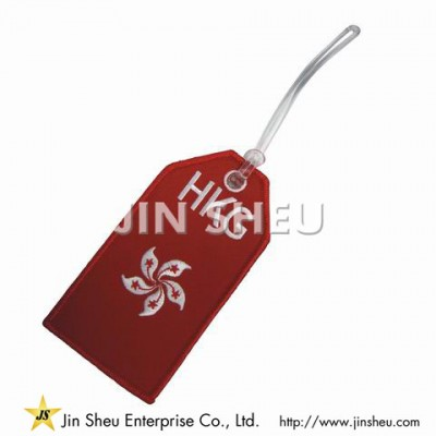 Hawaiian Airlines Embroidered Baggage Tag - Hawaiian Airlines Embroidered Baggage Tag