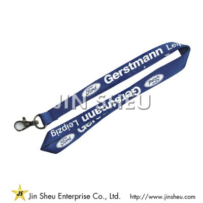 Personalized Polyester Lanyards - Personalized Polyester Lanyards