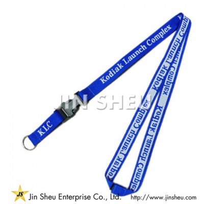 Woven Badge Lanyards