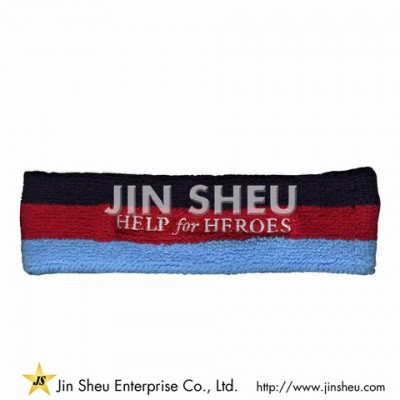 Athletic Terry Cloth Sweat Headbands - Athletic Terry Cloth Sweat Headbands