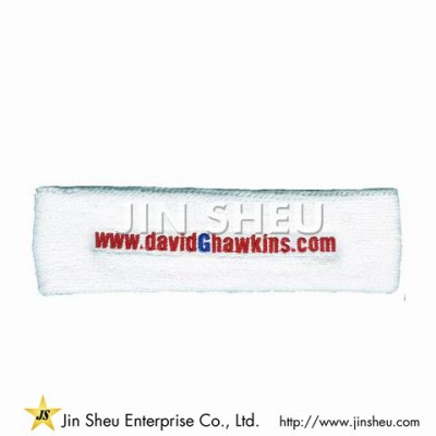 Workout Headband With Embroidery Logo - Workout Headband With Embroidery Logo