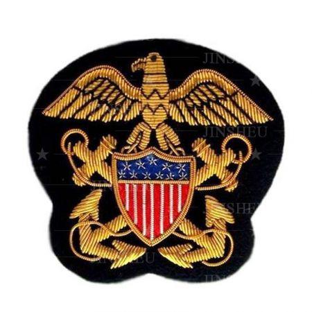 Custom Made Bullion Crest