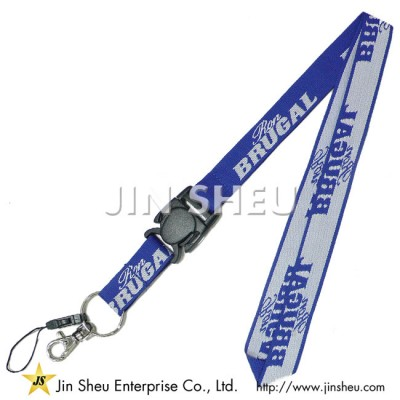 Woven Lanyards with Buckle