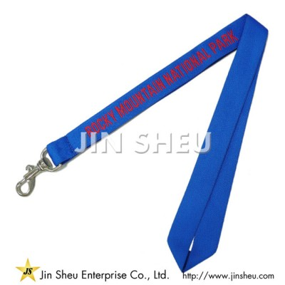 Polyester Lanyards with Woven Logo - Polyester Lanyards with Woven Logo