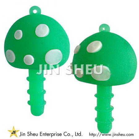 Mushroom Cell Phone Anti-Dust Plug - Mushroom Cell Phone Anti-Dust Plug