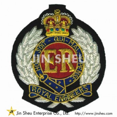 Promotional  Blazer Bullion Patch - Promotional  Blazer Bullion Patch