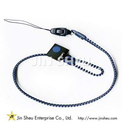Wholesale Zipper Lanyards
