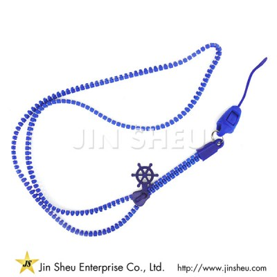Zipper Neck Lanyards - Zipper Neck Lanyards