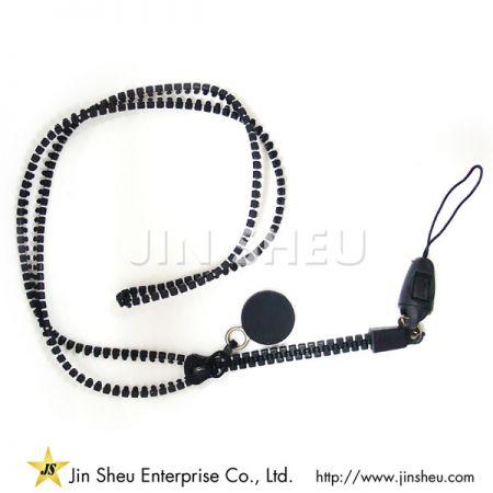 Zipper Neck Straps - Zipper Neck Straps