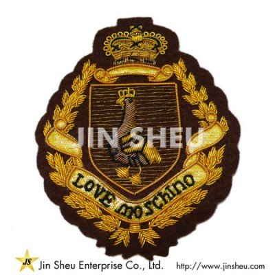 Wire Bullion Patches