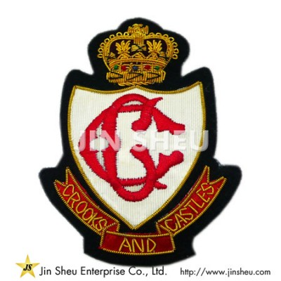 Fashion Embroidery Bullion Patches - Fashion Embroidery Bullion Patches