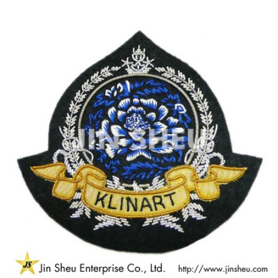 Bullion Woven Patch Factory - Bullion Woven Patch Factory
