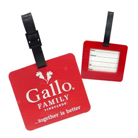 Custom Promotional Luggage Tags - Custom Promotional Luggage Tags